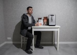 январь 2020, кофемашина