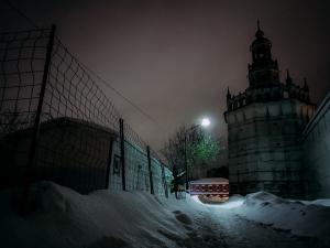 февраль 2021, ночь