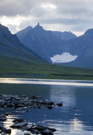 Ледник и шпиль