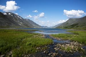 Ручей и озеро 2