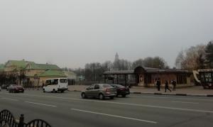 Туманное утро, нет колокольни и куполов