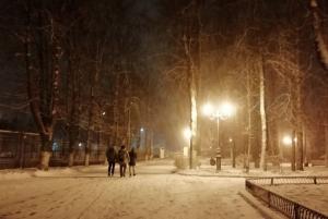 Зима приходит в город