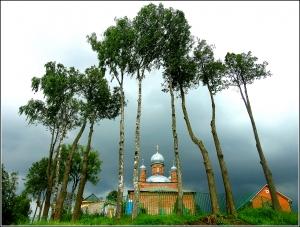 Храм Архангела Михаила в селе Шарапово
