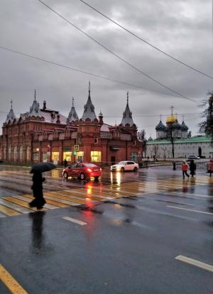 В городе дождик
