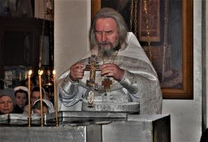 Чин  Великого освящения воды в праздник Крещения Господня.