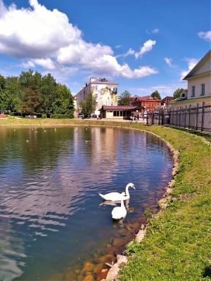 На Белом пруду