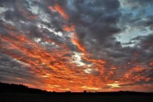 Предрассветное небо