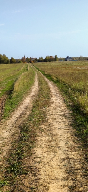 По дороге к д. Слотино