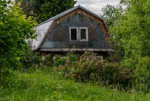 Заброшенный дом...