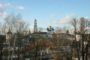 Панорамное с крыши недостроя. Март 2008.