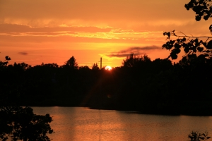 Закат в День фотографа