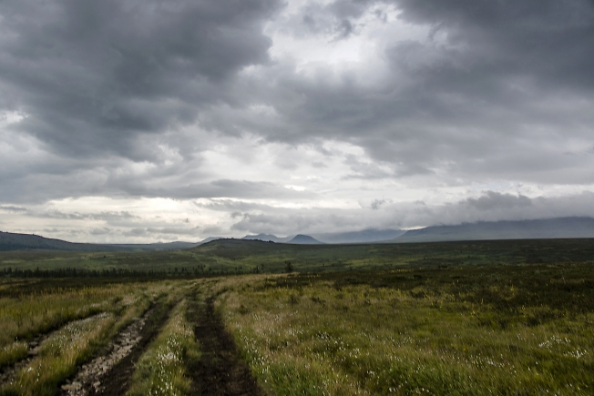 Дорога в тундре