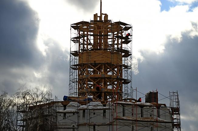 """Ну и мой """"вклад"""" в реставрацию башни..."""